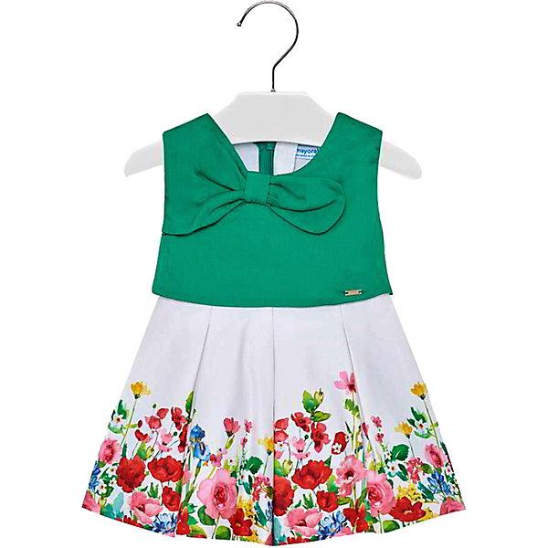 Платье Mayoral для девочки, Марокко, зеленый, 86, 98, 80, 92, Женский  - купить со скидкой