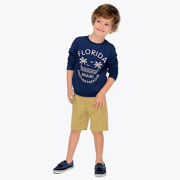 Купить Шорты Mayoral для мальчика, Индия, белый, 122, 98, 134, 116, 92, 110, 128, 104, Мужской