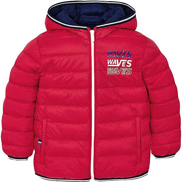 Купить Демисезоннная куртка Mayoral, Мьянма, красный, 98, 116, 122, 134, 104, 92, 110, 128, Мужской