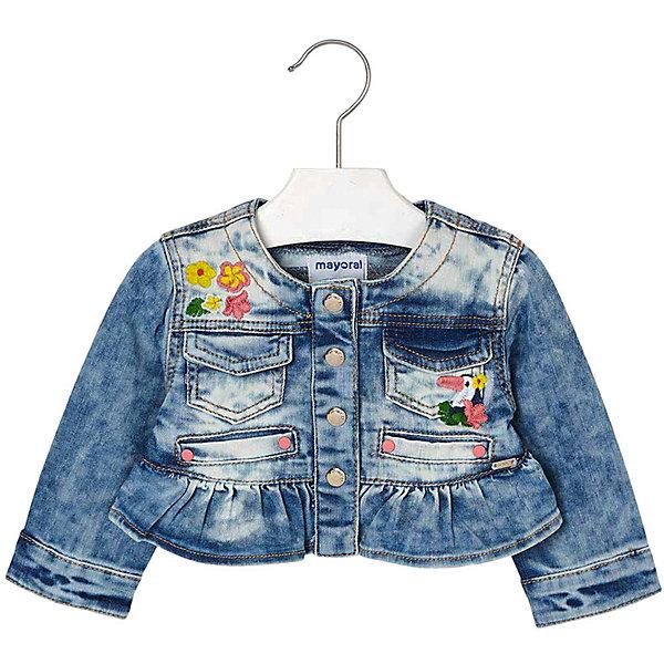 Купить Джинсовая куртка Mayoral, Индия, синий, 92, 80, 98, 86, Женский