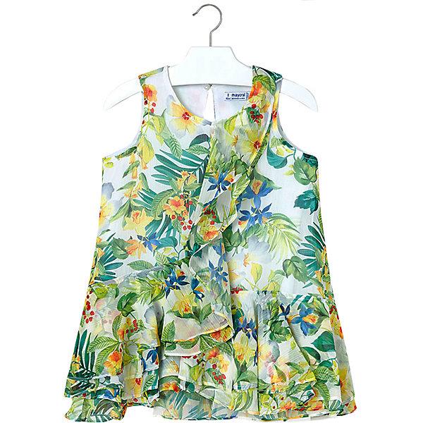 Купить Платье Mayoral для девочки, Китай, желтый, 122, 92, 116, 104, 134, 110, 128, 98, Женский