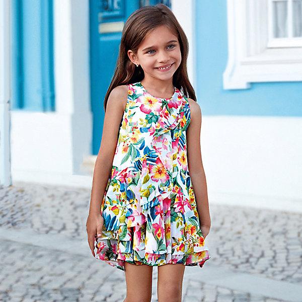 Купить Платье Mayoral, Китай, разноцветный, 134, 116, 110, 122, 128, 98, 92, 104, Женский