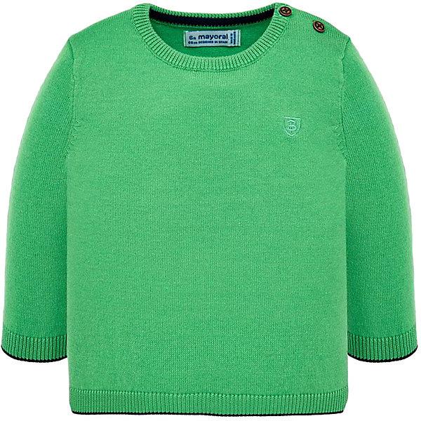 Купить Свитер Mayoral для мальчика, Бангладеш, зеленый, 86, 80, 92, 98, Мужской