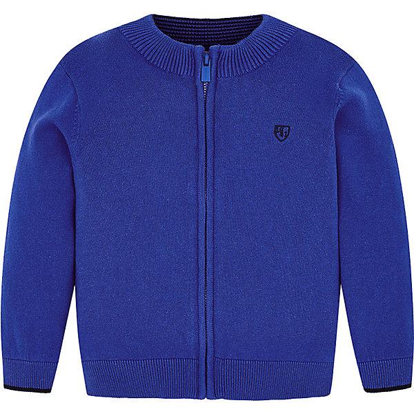 Купить Кардиган Mayoral для мальчика, Бангладеш, голубой, 104, 98, 110, 122, 116, 128, 92, 134, Мужской