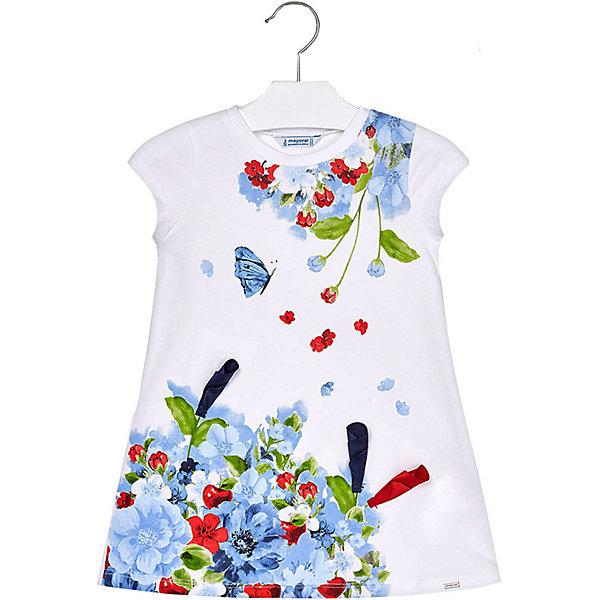 Купить Платье Mayoral для девочки, Турция, красный, 98, 122, 128, 104, 134, 116, 110, 92, Женский