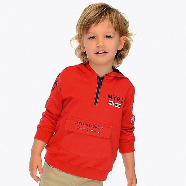 Купить Толстовка Mayoral для мальчика, Индия, бежевый, 92, 104, 134, 122, 98, 116, 110, 128, Мужской