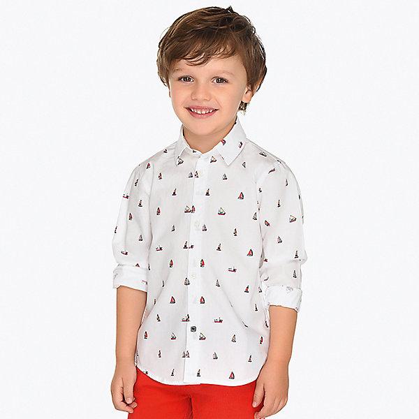 Купить Рубашка Mayoral для мальчика, Индия, разноцветный, 110, 104, 98, 122, 92, 128, 116, 134, Мужской