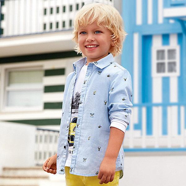 Купить Рубашка Mayoral для мальчика, Индия, разноцветный, 110, 134, 122, 104, 92, 128, 116, 98, Мужской
