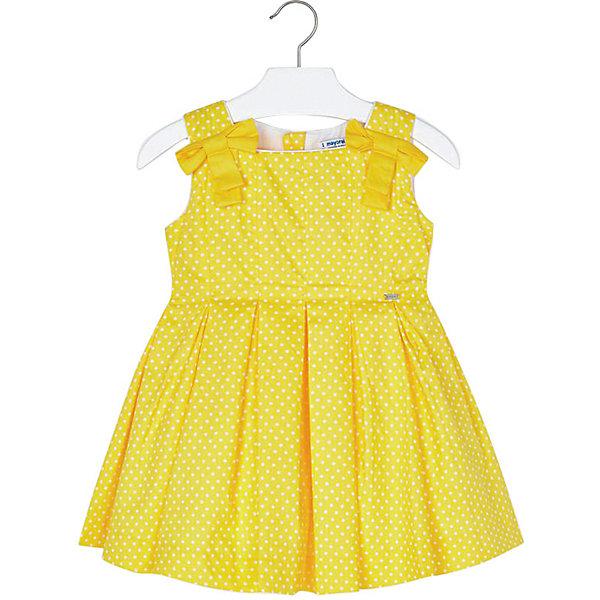 Купить Платье Mayoral для девочки, Китай, желтый, 134, 104, 116, 128, 92, 98, 110, 122, Женский