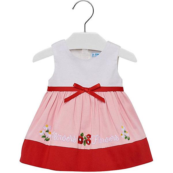 Купить Платье Mayoral для девочки, Марокко, красный, 86, 80, 92, 98, Женский