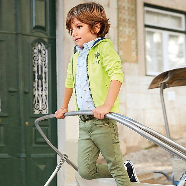 Купить Брюки Mayoral для мальчика, Бангладеш, зеленый, 110, 92, 116, 128, 104, 98, 134, 122, Мужской
