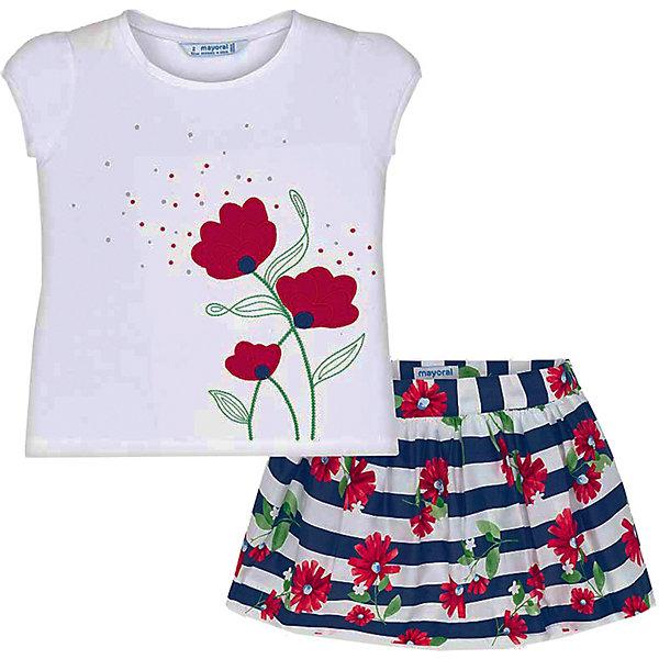цена на Mayoral Комплект Mayoral: футболка и юбка