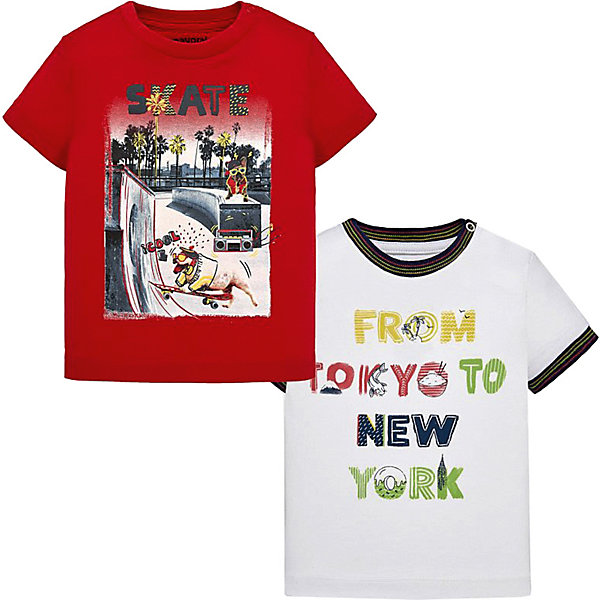 Mayoral Футболка Mayoral, 2 шт комплект футболок 2 шт