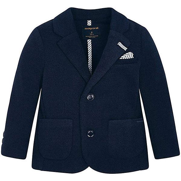 Пиджак Mayoral для мальчика, Темно-синий