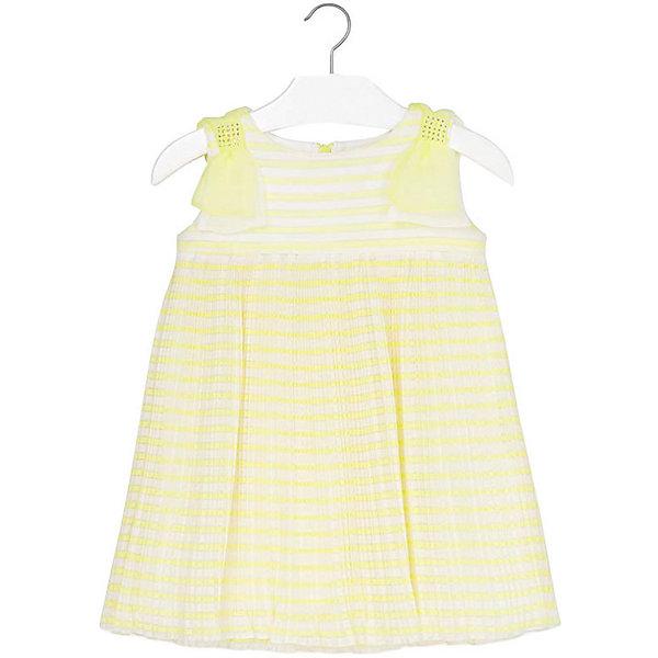 Платье Mayoral для девочки, Китай, желтый, 110, 116, 122, 128, 134, 98, 104, 92, Женский  - купить со скидкой