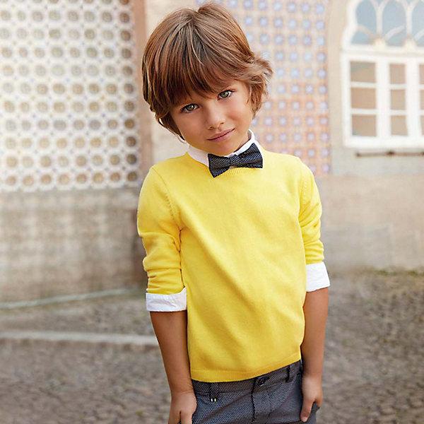 Свитер Mayoral для мальчика, Желтый