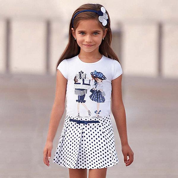 Купить Шорты Mayoral для девочки, Марокко, темно-синий, 134, 128, 116, 92, 104, 98, 122, 110, Женский