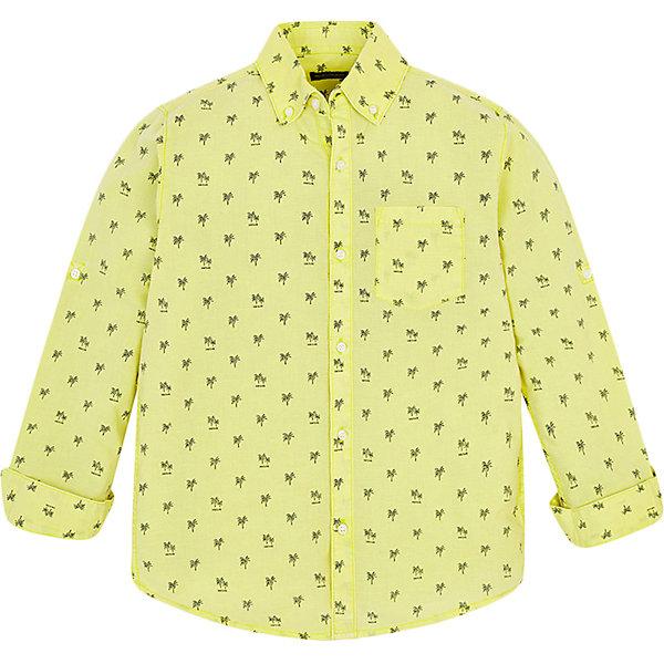 Купить Рубашка Mayoral для мальчика, Индия, желтый, 134/140, 128, 153/160, 161/166, 167/172, 146/152, Мужской