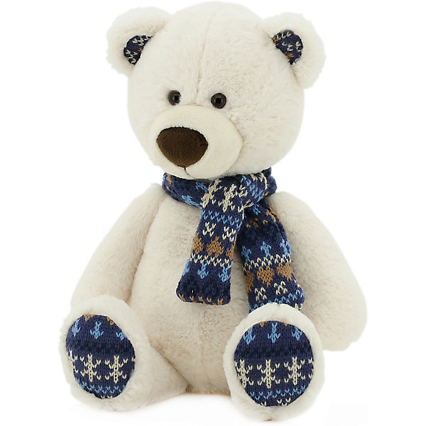 Orange Мягкая игрушка Медведь Снежок, 30 см