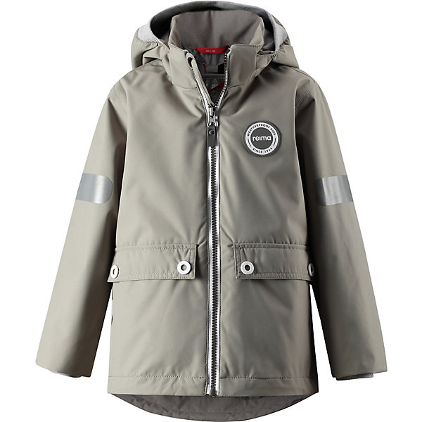 Купить Демисезонная куртка Reima Sydvest, Китай, серый, 104, 116, 92, 98, 110, 134, 140, 122, 80, 86, 128, Унисекс