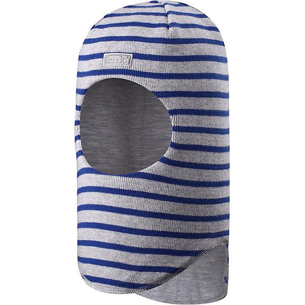 Шапка-шлем LassieШапки и шарфы<br>Характеристики товара:<br><br>• состав ткани: 100% хлопок<br>• подкладка: 95% хлопок, 5% эластан<br>• утеплитель: без дополнительного утепления<br>• сезон: демисезон<br>• застёжка: без застёжки<br>• хлопчатобумажная ткань<br>• ветронепроницаемые вставки в области ушей<br>• светоотражающая эмблема спереди<br>• страна бренда: Финляндия<br><br>Шапка-шлем комфортно облегает и защищает голову, шею и уши от холодного ветра в межсезонье. Прорезь для лица не сдавливает и не натирает. Легко надевается, эластичный материал хорошо тянется и не сковывает. Обладает дышащими свойствами.