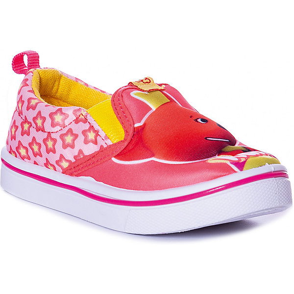Купить Слипоны Kakadu Ми-ми-мишки для девочки, Китай, розовый, 27, 28, 29, 26, 24, 25, Женский