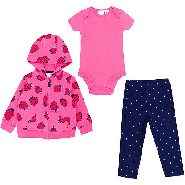 Купить Комплект для новорожденного Carter's, carter`s, Китай, розовый, 67-72, 86, 86/92, 80, Женский