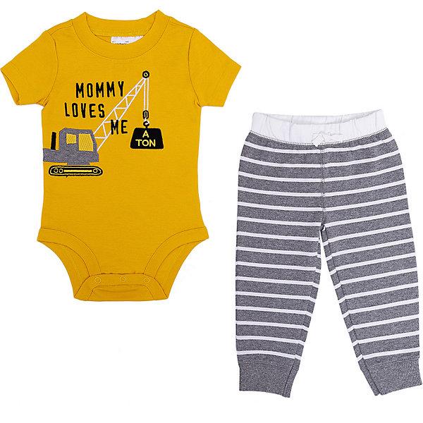 Купить Комплект для новорожденного Carter's, carter`s, Индонезия, желтый, 74, 86, 68, 62, 86/92, 80, Мужской