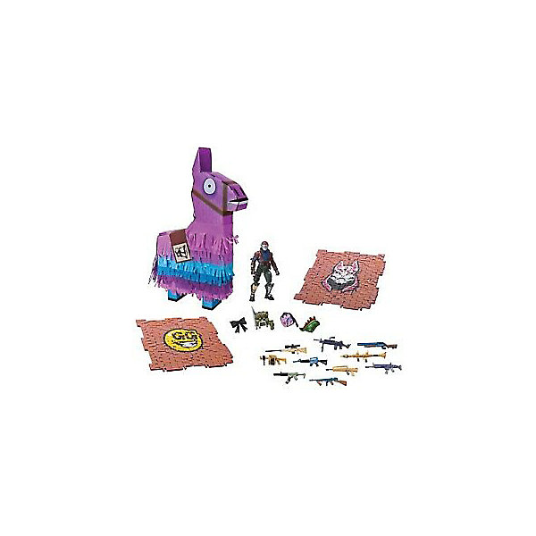 Jazwares Игровой набор Jazwares Fortnite Лама-пиньята, с аксессуарами игровой набор jazwares fortnite