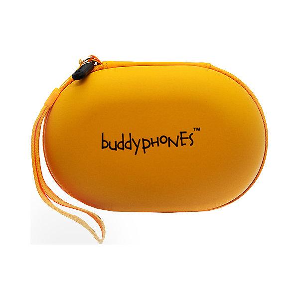 Buddyphones Кейс для наушников, желый