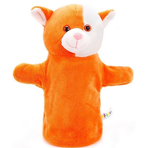 Жирафики Кукла на руку Жирафики Рыжий кот, 25 см ролевые игры beleduc кукла на руку слон 40039