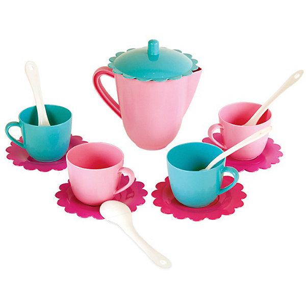 Купить Посуда Mary Poppins чайный сервиз Зайка , 14 предметов, Украина, hellblau/rosa, Женский