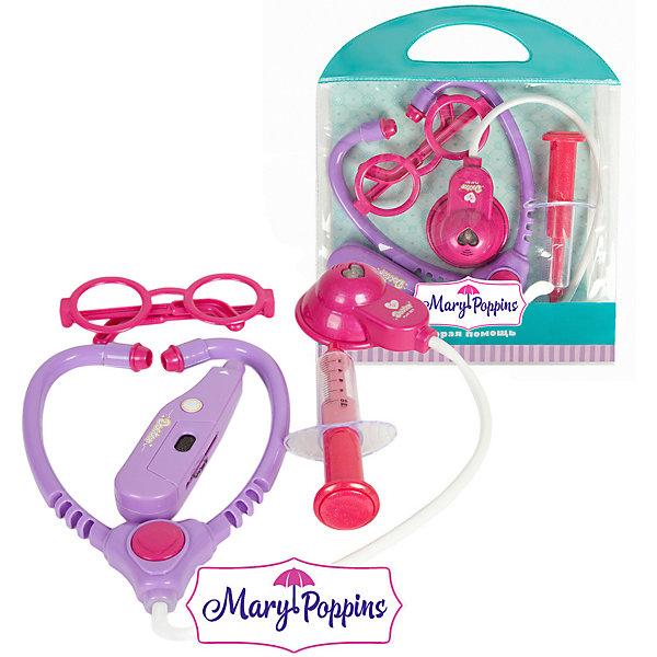 Купить Игровой набор Mary Poppins Скорая помощь , 4 предмета, фиолетовый, Китай, разноцветный, Унисекс