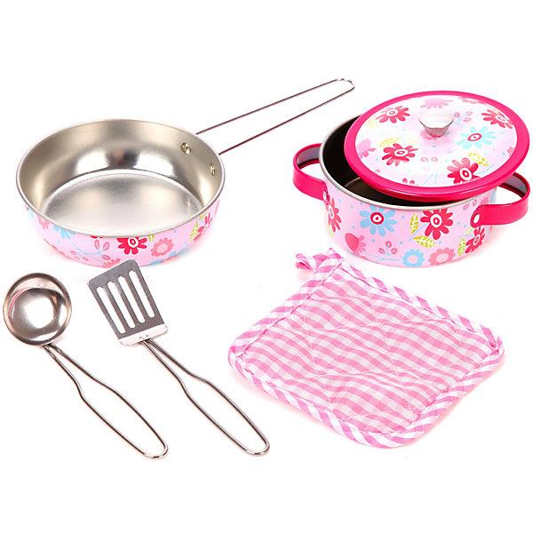 Mary Poppins Игровой набор посуды для готовки Цветы, 6 предметов