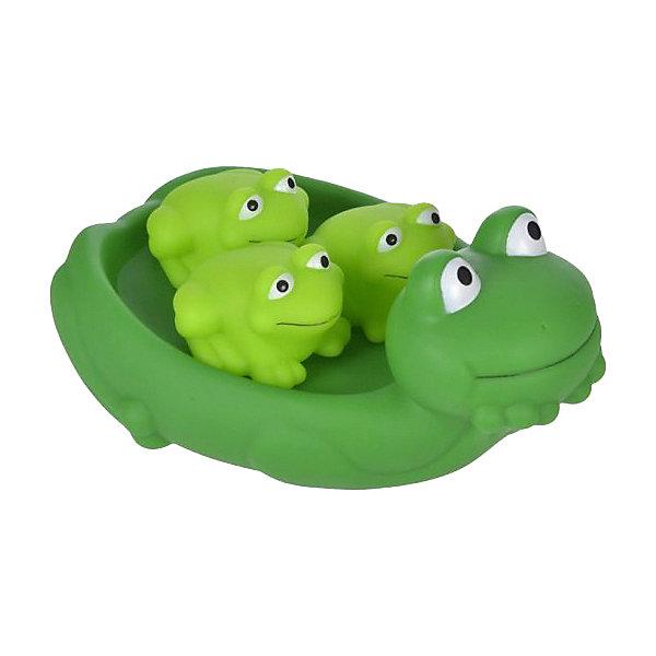 Жирафики Игрушка для ванны Мама лягушка и лягушата