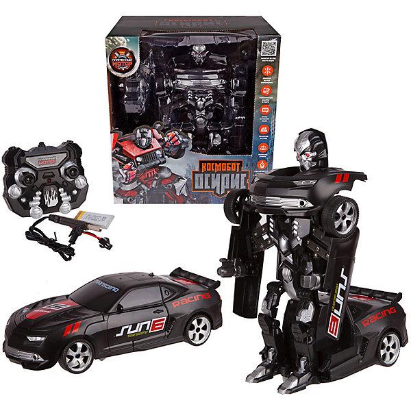 Купить Машина-робот Пламенный мотор Космобот Осирис , на р/у, черный, Китай, Мужской