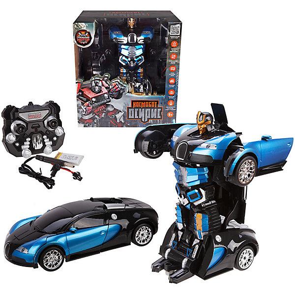 Купить Машина-робот Пламенный мотор Космобот Осирис , на р/у, сине-черный, Китай, schwarz/blau, Мужской