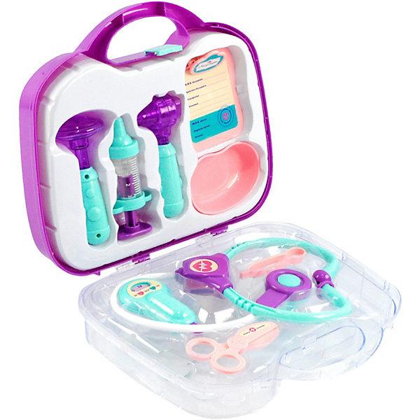 Купить Игровой набор Mary Poppins Скорая помощь , 9 предметов, фиолетовый, Китай, Унисекс
