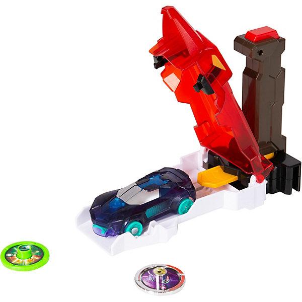 Screechers Wild Игровой набор Дикие Скричеры Скричер-катапульта красная, машинка