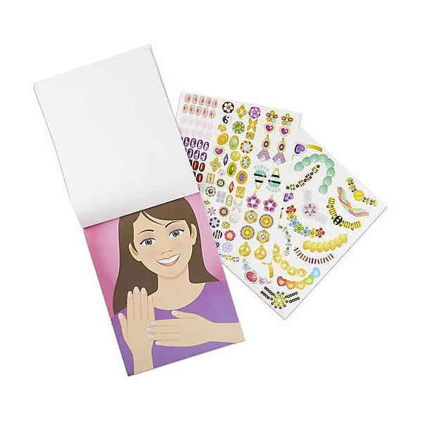 Купить Набор стикеров Melissa & Doug Сверкающий набор , 5 сцен, 360 наклеек, США, разноцветный, Унисекс