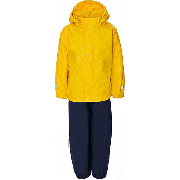 Купить Комплект: куртка, полукомбенизон Ticket To Heaven, Китай, желтый, 110, 122, 134, 86, 104, 80, 140, 116, 92, 98, 128, Унисекс