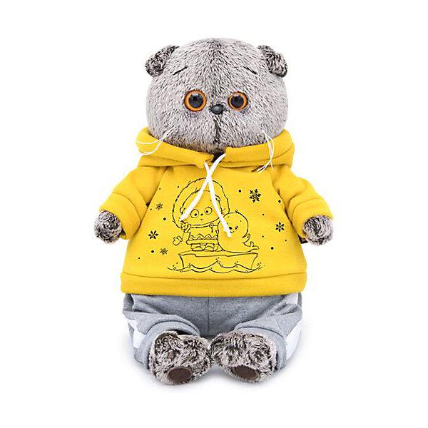 Budi Basa Мягкая игрушка Budi Basa Кот Басик в спортивном костюме, 19 см цена