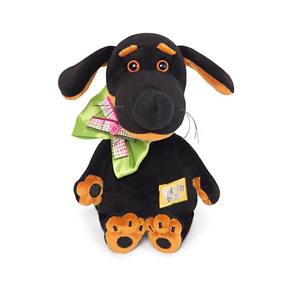 Budi Basa Мягкая игрушка Собака Ваксон Baby с бантом, 20 см