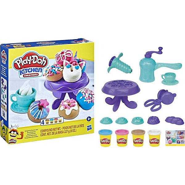 Hasbro Игровой набор Play-Doh Kithen Creations Выпечка и пончики