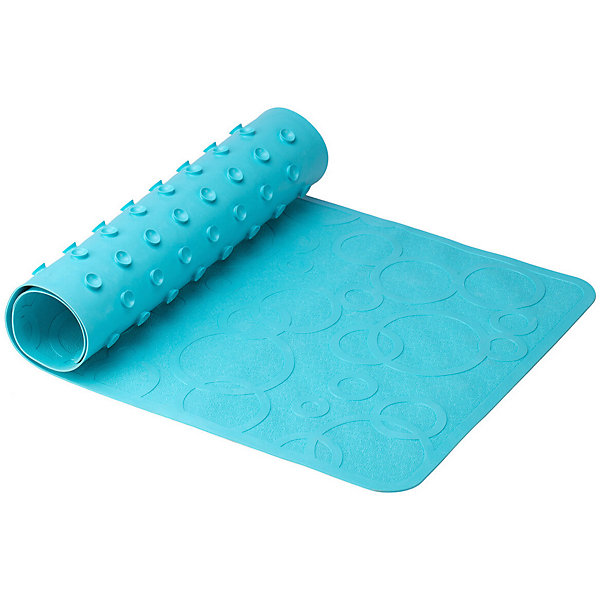 Roxy-Kids Антискользящий резиновый коврик для ванны Roxy-Kids, бирюзовый