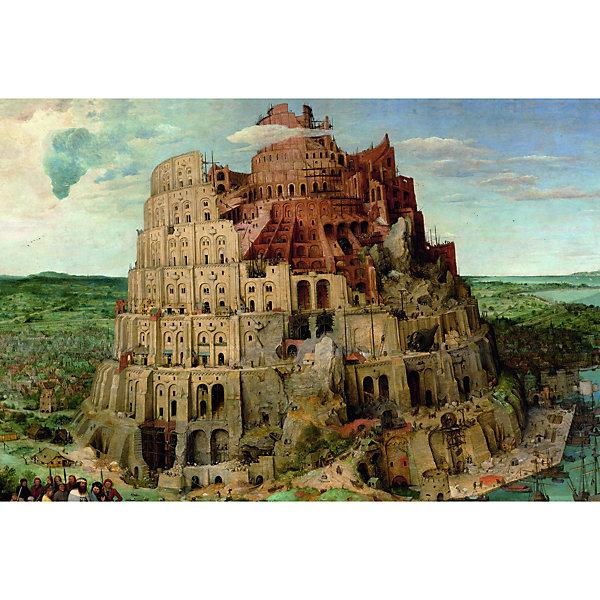 Piatnik Пазл Piatnik Питер Брейгель: Вавилонская башня 1000 элементов пазл 55 элементов кастор времена года