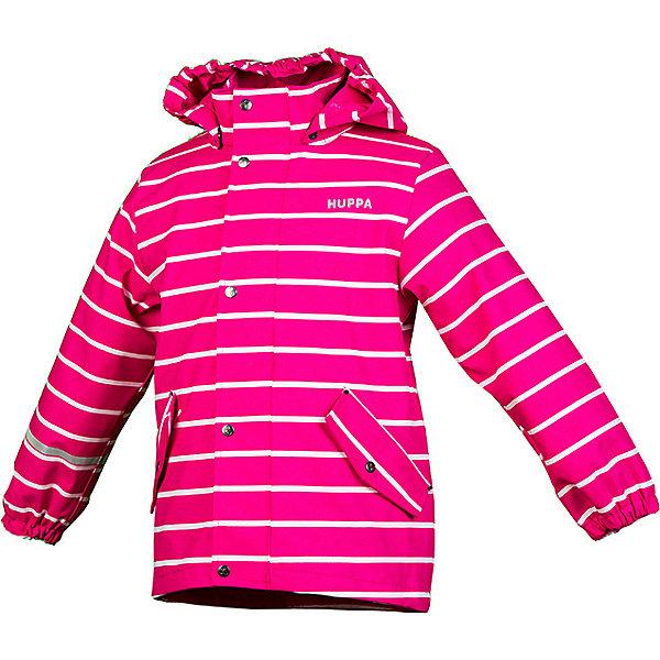 Купить Куртка-дождевик JACKIE HUPPA, Эстония, фуксия, 116, 110, 122, 98, 128, 104, 92, 80, 86, Унисекс