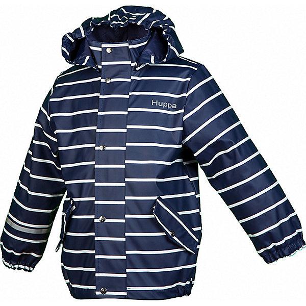 Купить Куртка-дождевик JACKIE HUPPA, Эстония, темно-синий, 110, 86, 98, 116, 128, 80, 104, 92, 122, Унисекс