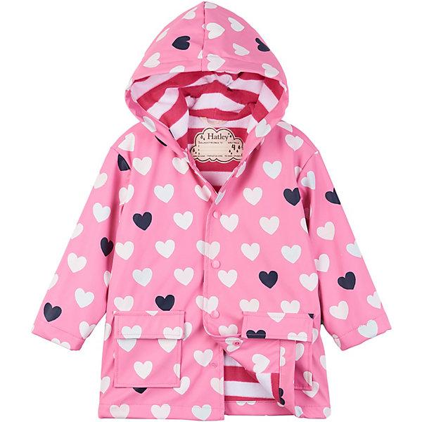 Купить Плащ Hatley для девочки, Китай, розовый, 142, 89, 104, 97, 112, 119, 127, 135, Женский