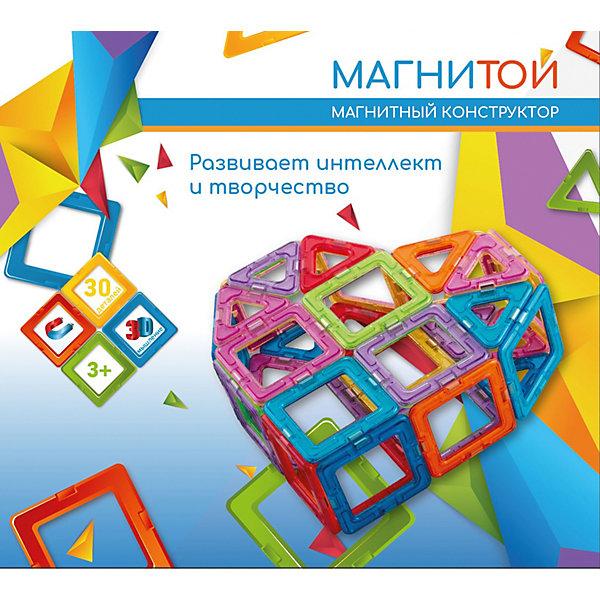 Купить Магнитный конструктор «Магнитой» Сердце, 30 деталей, Китай, разноцветный, Унисекс